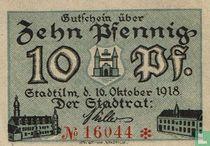 Stadtilm 10 Pfennig 1918