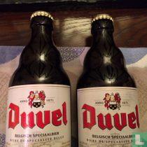 Duvel fles logo versie Engel-Duivel