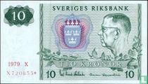 Schweden 10 Kronor 1979 (Replacement)