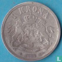 Zweden 1 krona 1888