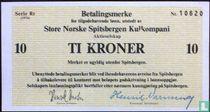 Spitsbergen 10 Kroner 1976