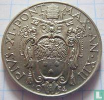 Vaticaan 1 lira 1934