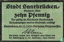 Saarbrucken 10 Pfennig 1919