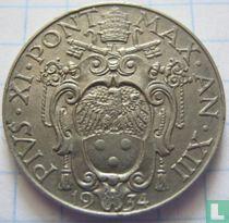 Vaticaan 50 centesimi 1934