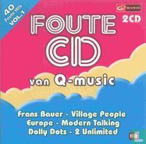 Foute CD van Q-Music 1