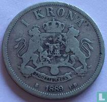 Zweden 1 krona 1889