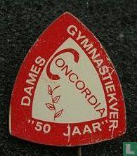 """Concordia dames gymnastiekver. """"50 jaar"""""""