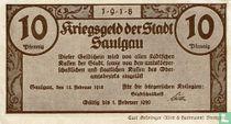 Saulgau 10 Pfennig 1918
