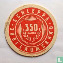 Schleppe Jubiläumsbräu 350 Jahre