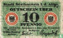 Seehausen 10 Pfennig 1917