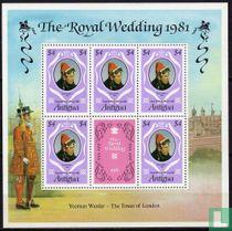 Huwelijk Prins Charles en Lady Diana