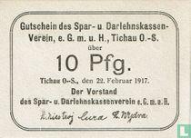 Tichau 10 Pfennig 1917