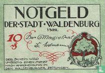 Waldenburg 10 Pfennig