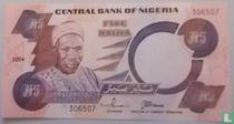 Nigeria 5 Naira 2004