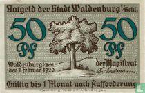Waldenburg 50 Pfennig 1920