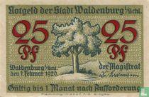 Waldenburg 25 Pfennig 1920