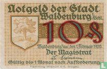 Waldenburg 10 Pfennig 1920