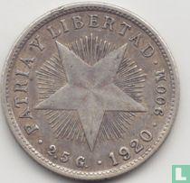 Cuba 10 centavos 1920