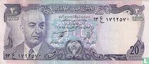 Afghanistan 20 Afghanis 1975