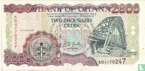 Ghana 2.000 Cedis 2001