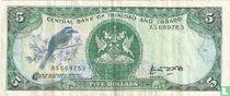Trinidad en Tobago 5 Dollars ND (1985)