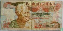 Ghana 200 Cedis 1986