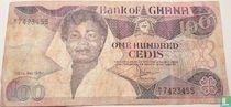 Ghana 100 Cedis 1984