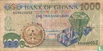 Ghana 1.000 Cedis 1998