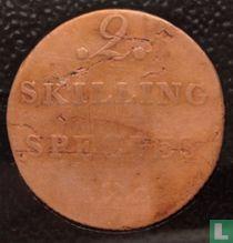 Norwegen 2 Skilling 1822
