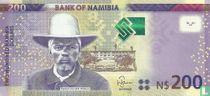 Namibia 200 Namibia Dollars 2012