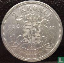 Zweden 2 kronor 1880 (type 1)