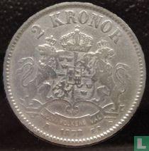 Zweden 2 kronor 1878 (Type 1)