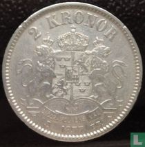 Zweden 2 kronor 1877