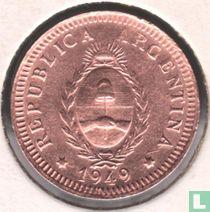 Argentina 2 centavos 1949