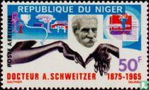 Death of doctor Albert Schweitzer