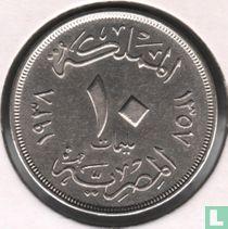 Ägypten 10 Millieme 1938