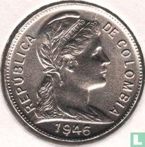 Colombia 2 centavos 1946