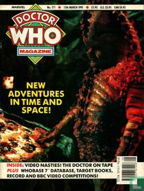 Doctor Who Magazine 171