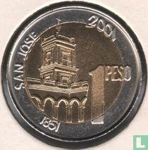 "Argentinië 1 peso 2001 (gladde rand) ""200th anniversary Birth of General Urquiza"""
