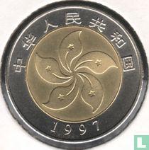 """Chine 10 yuan 1997 """"Hong Kong constitution"""""""