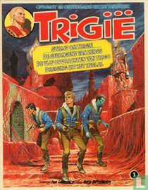 Strijd om Trigië + De gevangene van Zerss + De vijf opdrachten van Trigo + Dreiging uit het heelal