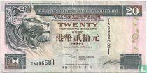 Hongkong 20 Dollars 2002