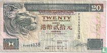 Hongkong 20 Dollars 2001