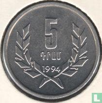 Armenien 5 Dram 1994