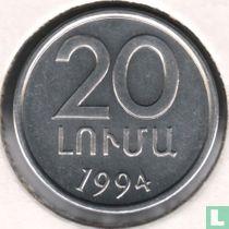 Armenien 20 Luma 1994