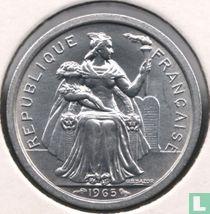 Frans-Polynesië 1 franc 1965