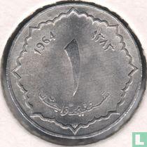 Algerije 1 centime 1964 (jaar 1383)