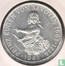"""Austria 25 schilling 1963 """"300th anniversary Birth of Prince Eugen von Savoyen"""""""
