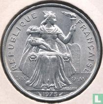 Frans-Polynesië 5 francs 1975