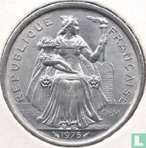 Frans-Polynesië 2 francs 1975